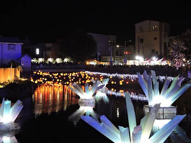 2020月津港燈節18日晚間啟燈