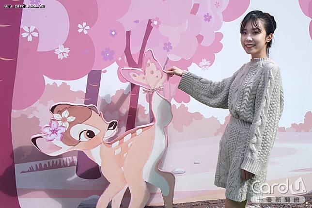 統一時代百貨台北店設置以奇奇蒂蒂、小飛象、瑪麗貓與小鹿斑比為主題的期間限定店(圖/卡優新聞網)